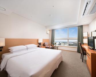 Hotel Bareve - Seogwipo - Bedroom