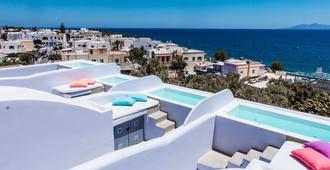 Blue Waves Hotel - Kamari - Servicio de la propiedad