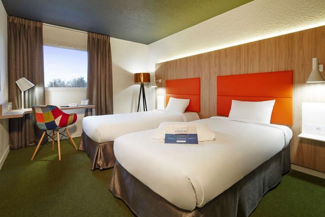Kyriad Clermont Ferrand Nord - Riom - Riom - Bedroom