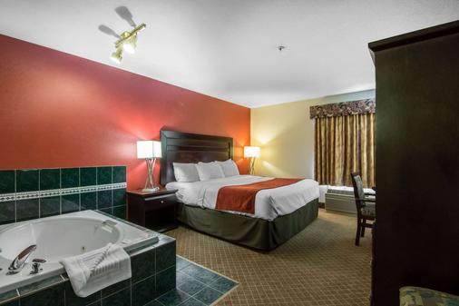 Comfort Inn & Suites Airport South - Calgary - Makuuhuone