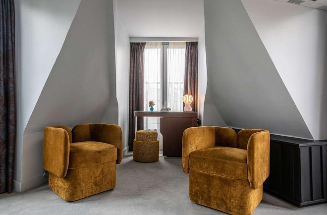 Hôtel Belloy Saint Germain - Pariisi - Olohuone
