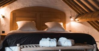 Hotel Colvenier - אנטוורפן - חדר שינה