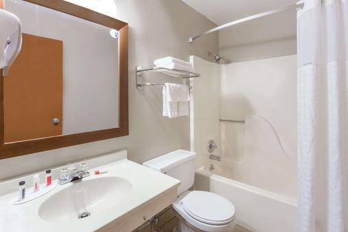 Super 8 by Wyndham Iowa City/Coralville - Coralville - Phòng tắm