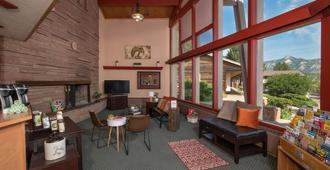 Twin Owls Motor Lodge - Estes Park - Sala de estar