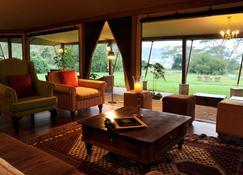 Lake Elmenteita Serena Camp - Nakuru - Olohuone
