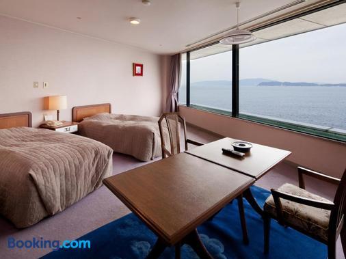 Kada Onsen Seaside Hotel Kada Kaigetsu - Wakayama - Κρεβατοκάμαρα