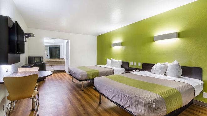 德克薩斯聖馬可 6 號汽車旅館 - 聖馬可斯 - 聖馬科斯 - 臥室