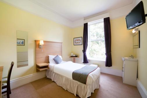 鷹廈酒店 - 聖倫納德斯海濱城市 - 哈斯丁 - 臥室