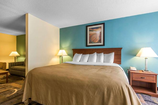 Quality Inn and Suites Memphis East - Memphis - Bedroom