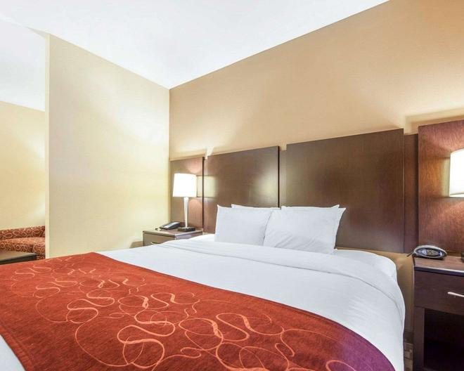 Comfort Suites - Rome - Bedroom