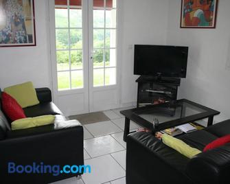 Appartement Etxettipia - Itxassou - Wohnzimmer