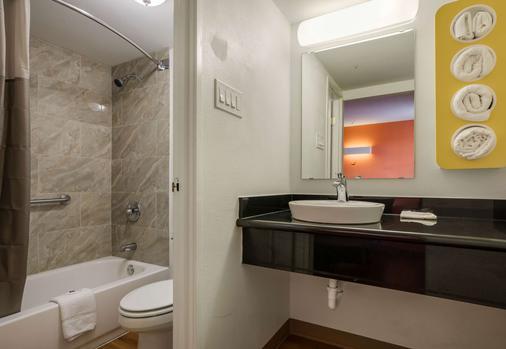 Motel 6 Beaumont Tx - Beaumont - Phòng tắm