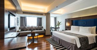Legacy Suites Hotel - בנגקוק - חדר שינה