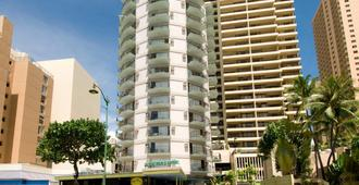Aston Waikiki Circle Hotel - Honolulu - Building