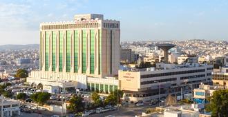 Crowne Plaza Amman - Amã - Vista externa