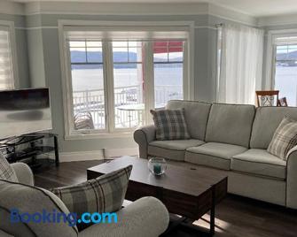 Condo Lac Archambault 298 - Saint-Donat-de-Montcalm - Living room