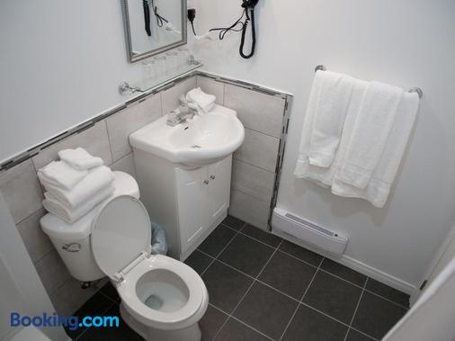 Hotel Le Plaza - La Baie - Bathroom