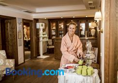Hotel Genziana - Σέλβα ντι Βαλ Γκαρντένα - Σαλόνι ξενοδοχείου