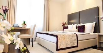 Hotel Merkur - באדן-באדן - חדר שינה