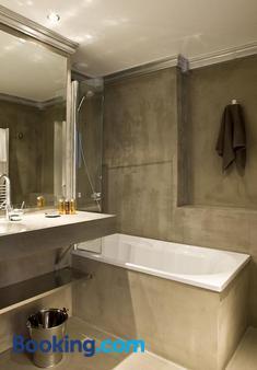 奧爾梅納姆酒店 - 伊塞谷 - 瓦勒迪澤爾 - 浴室