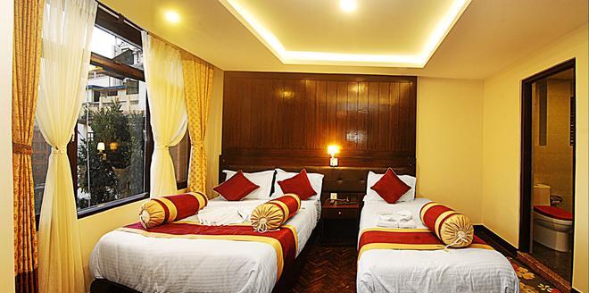 Hotel Buddha - Κατμαντού - Κρεβατοκάμαρα