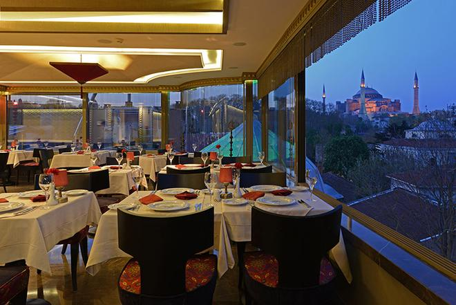 Hotel Sultania- Boutique Class - Estambul - Restaurante