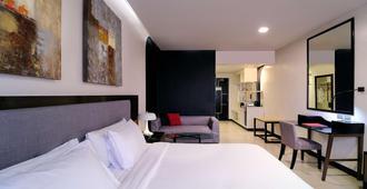 薩米特玉蘭酒店 - 奎松市 - 馬尼拉 - 臥室