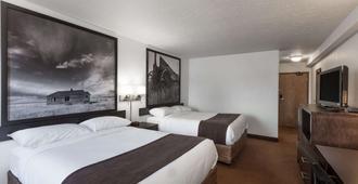 Super 8 by Wyndham Vermilion AB - Vermilion - Bedroom