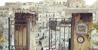 Hotel Sassi - Matera - Outdoor view