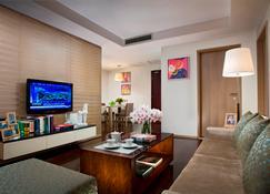 重慶盛捷解放碑服務公寓 - 重慶 - 客廳