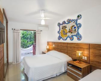Pousada Ogum Marinho - Praia do Forte - Bedroom