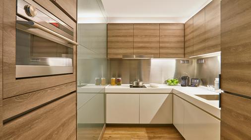 Pan Pacific Serviced Suites Beach Road, Singapore - Singapore - Kitchen