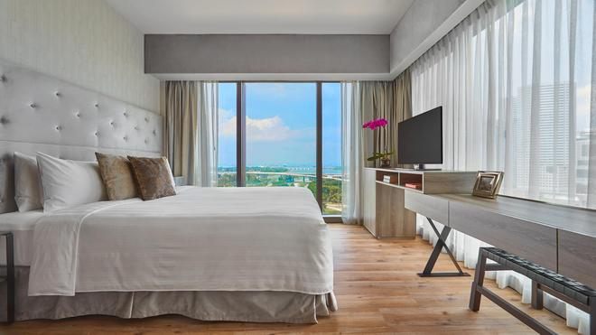 Pan Pacific Serviced Suites Beach Road, Singapore - Singapore - Phòng ngủ