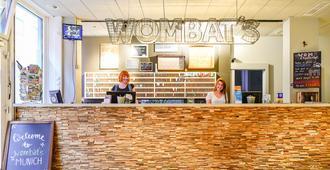 Wombat's City Hostel Munich Hauptbahnhof - Múnich - Recepción