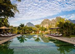 Riverside Boutique Resort, Vang Vieng - Vang Vieng - Pool