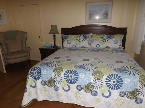 Footbridge North Hotel - Wells - Schlafzimmer
