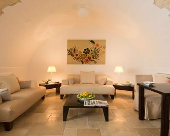Palazzo Indelli - Monopoli - Sala de estar