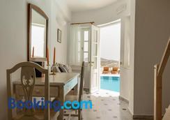 Kallisto Hotel - Imerovigli - Bedroom