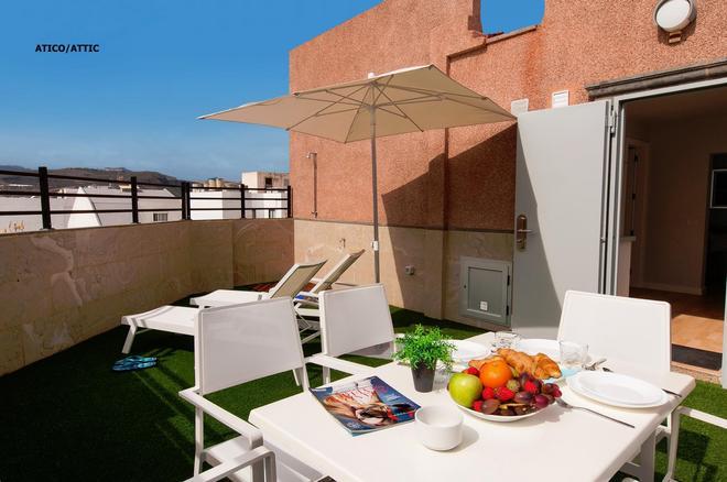 Hotel Apartamento Bajamar - Las Palmas de Gran Canaria - Parveke