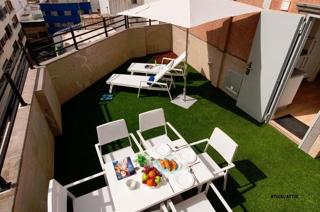 Hotel Apartamento Bajamar - Las Palmas de Gran Canaria - Patio