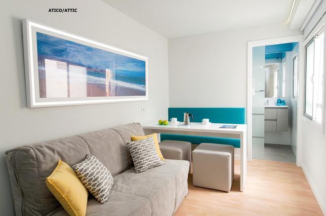 Hotel Apartamento Bajamar - Las Palmas de Gran Canaria - Olohuone