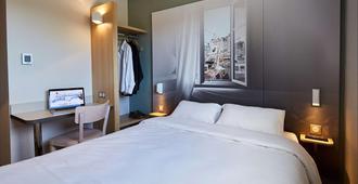 B&b Hotel Honfleur - הונפלואור - חדר שינה