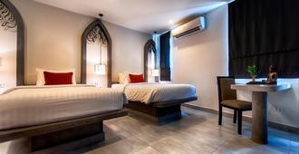 Central Suite Residence - סיאם ריפ - חדר שינה