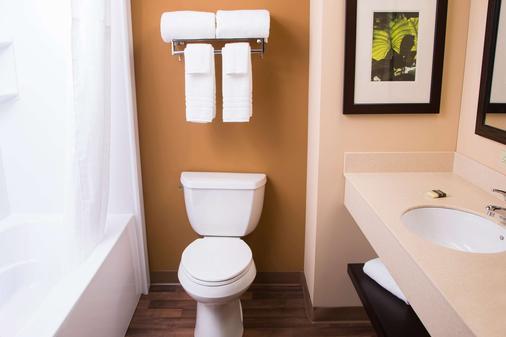 底特律安娜堡美國長住酒店 - 安亞伯 - 安娜堡 - 浴室