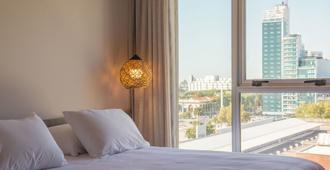 Hotel Ciudadano Suites - מונטווידאו - חדר שינה
