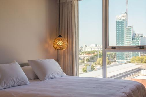 Hotel Ciudadano Suites - Montevideo - Bedroom