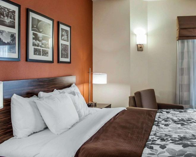 斯利普酒店 - 北查爾斯頓 - 北查爾斯頓 - 臥室