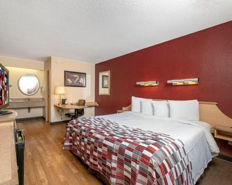 Red Roof Inn Mystic - New London - Нью-Лондон - Спальня