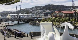 Mercure Wellington Central City - Hotel & Apartments - Wellington - Näkymät ulkona