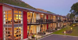 Marina Apartments Element Escapes - קווינסטאון - בניין